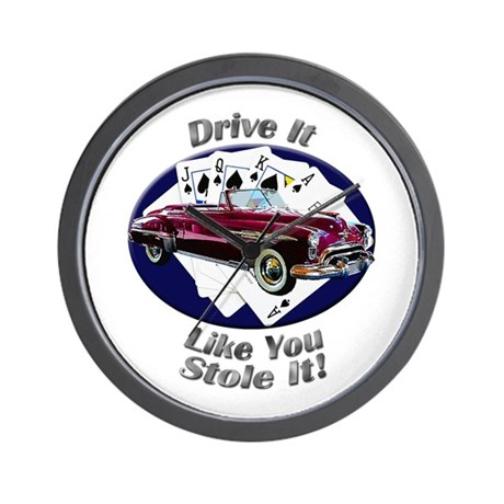Oldsmobile Rocket 88 Wall Clock