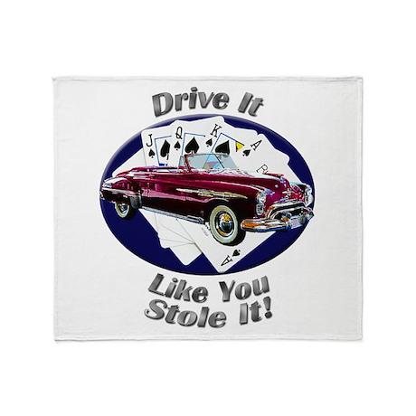 Oldsmobile Rocket 88 Throw Blanket