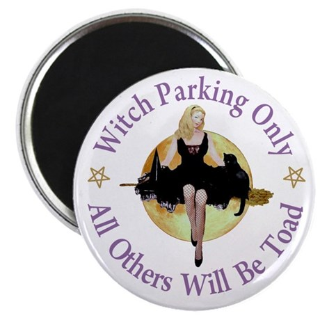 Witch Parking Only Magnet