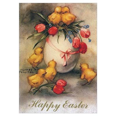 Vintage Easter Poster