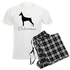 Doberman Silhouette Pajamas