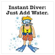Instant Diver Poster