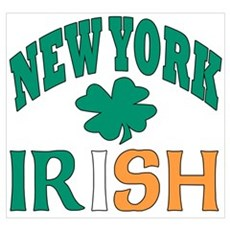 New York irish Canvas Art