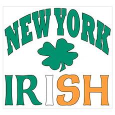 New York irish Poster