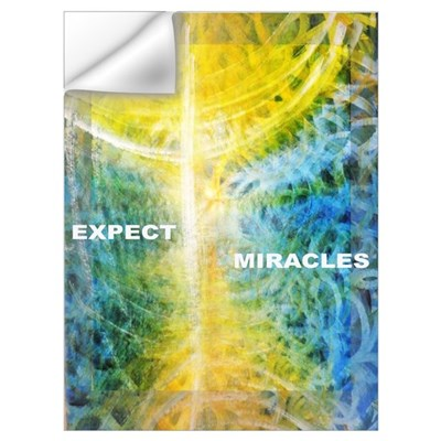 Expect Miracles Wall Decal
