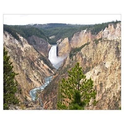 Yellowstone Canyon Poster