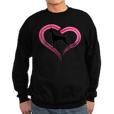 Heart My Doberman Sweatshirt
