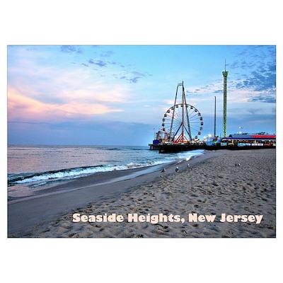 Seaside Heights Poster