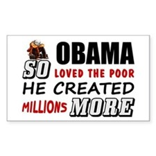 """Millions More Poor"" Decal"