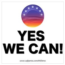 """Yes We Can!"" Framed Print"