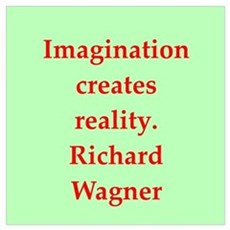 Richard wagner quotes Framed Print