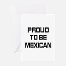 Proud to be Mexican Greeting Cards (Pk of 10)