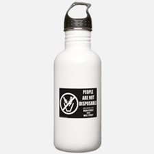 People Are Not Disposable 2010 Water Bottle