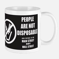 People Are Not Disposable 2010 Mug