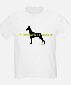 My Brother is a Doberman T-Shirt