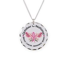 Breast Cancer Awareness Month Necklace