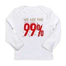 We Are the 99% Long Sleeve Infant T-Shirt