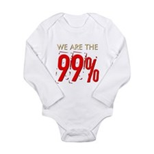 We Are the 99% Long Sleeve Infant Bodysuit