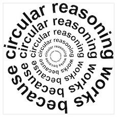 Circular Reasoning Works Poster