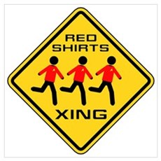 Red Shirts Xing Poster