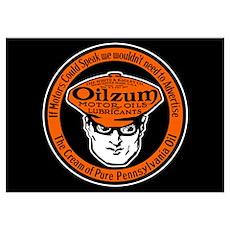 Oilzum Motor Oil Poster