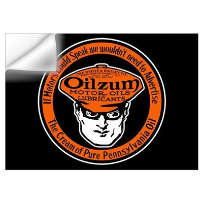 Oilzum Motor Oil Wall Decal