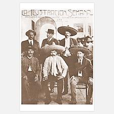 Emiliano Zapata Cover Mexican Revolution Print