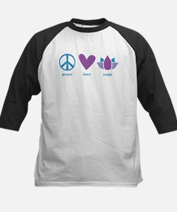 peace, love, yoga Tee