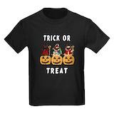 Kids pug Kids T-shirts (Dark)