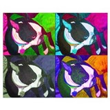 Boston terriers Wrapped Canvas Art