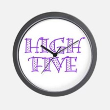 HighFive_Purple Wall Clock