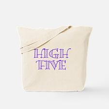 HighFive_Purple Tote Bag