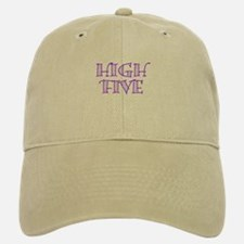 HighFive_Purple Baseball Baseball Cap