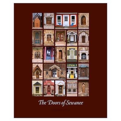 Sewanee Doors 16x20 Medium Poster