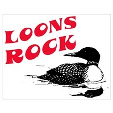 Loons ROCK Poster