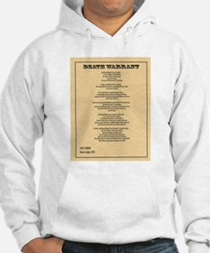 Hanging Judge Death Warrant Hoodie