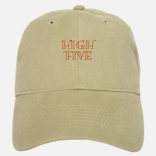HighFive_Orange Baseball Baseball Cap