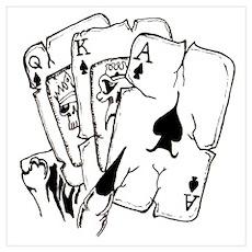 Devils Cards Poster