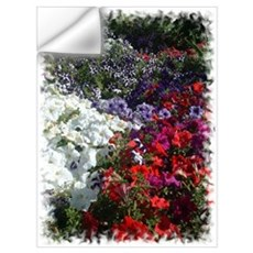 Petunias in the Living Memori Wall Decal