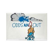 OYOOS Fun Odds design Rectangle Magnet