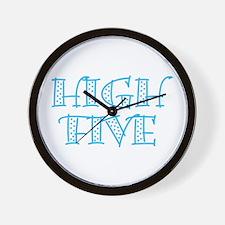 HighFive_Blue Wall Clock