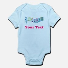 Music Personalized Cute Infant Bodysuit