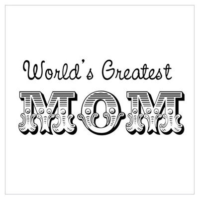 World's Greatest Mom Framed Print