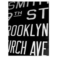 Smith Brooklyn Church Framed Vintage Sign Photo Poster