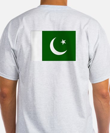 Proud to be Pakistani Ash Grey T-Shirt