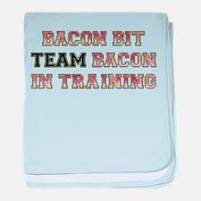 Team Bacon - Bacon Bit baby blanket