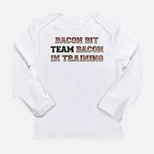 Team Bacon - Bacon Bit Long Sleeve Infant T-Shirt
