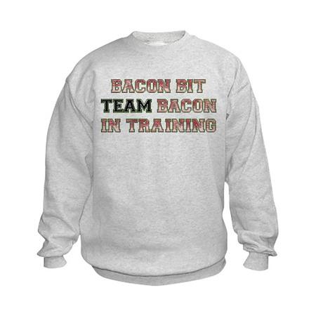 Team Bacon - Bacon Bit Kids Sweatshirt