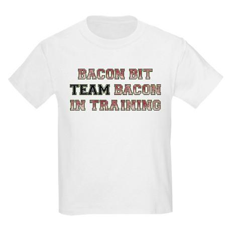 Team Bacon - Bacon Bit Kids Light T-Shirt