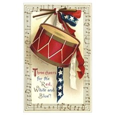 Vintage 4th of July Canvas Art